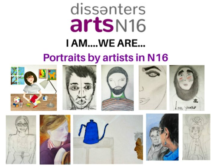Portraits of artists from N16