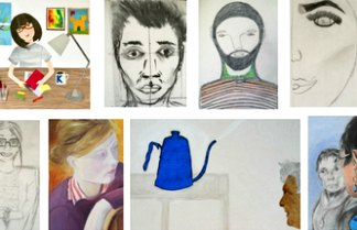 Portraits by artists in n16 - Dissenters Arts N16